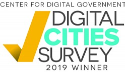 2019 Digital Cities Survey Award Logo