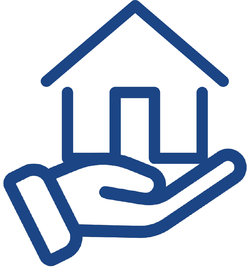 House and Hand logo BLUE.png