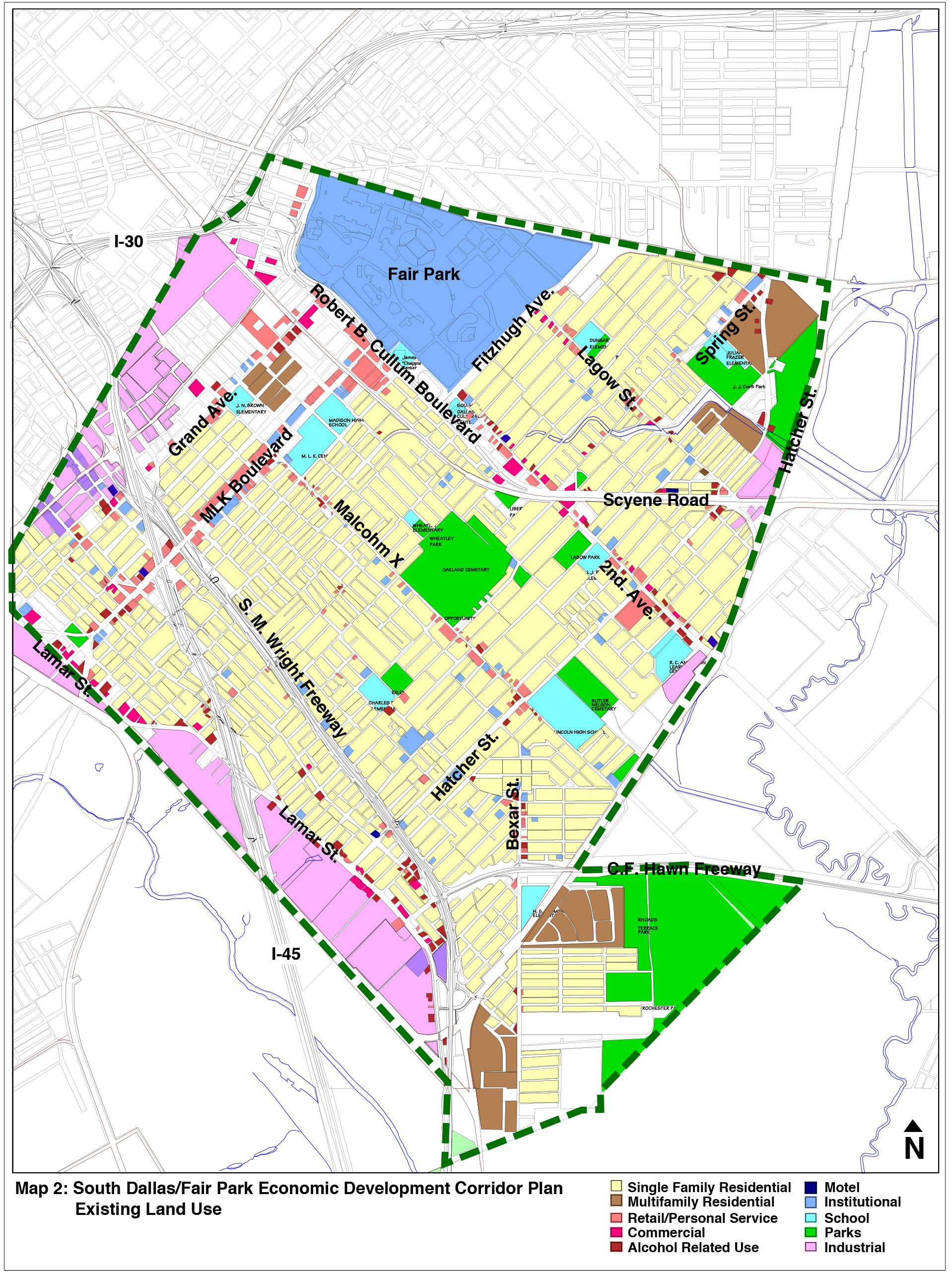South Dallas Fair Park Economic Development Corridor