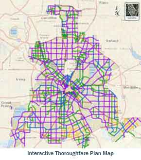 Interactive Thoroughfare Plan Map