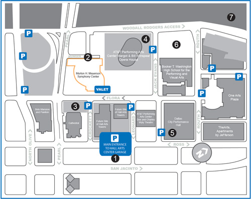 map for parking