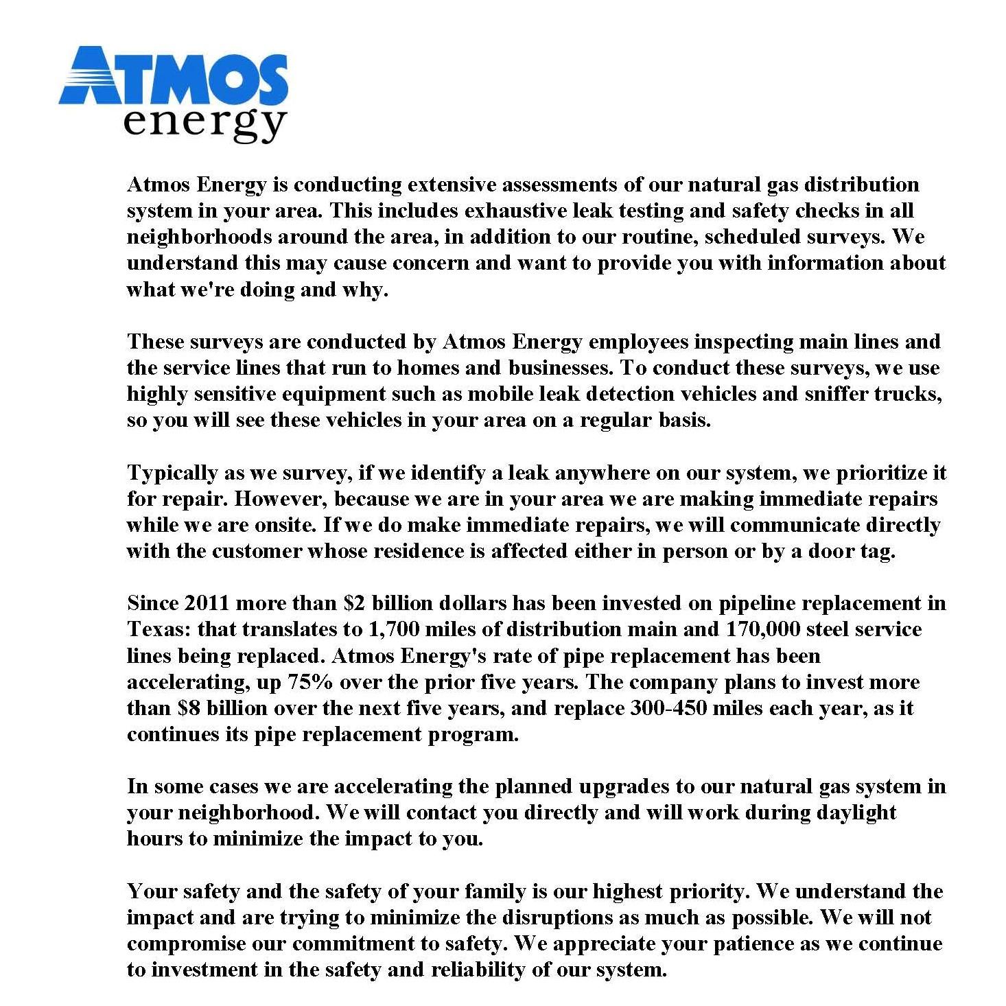 Atmos Energy Lubbock - Ace Energy