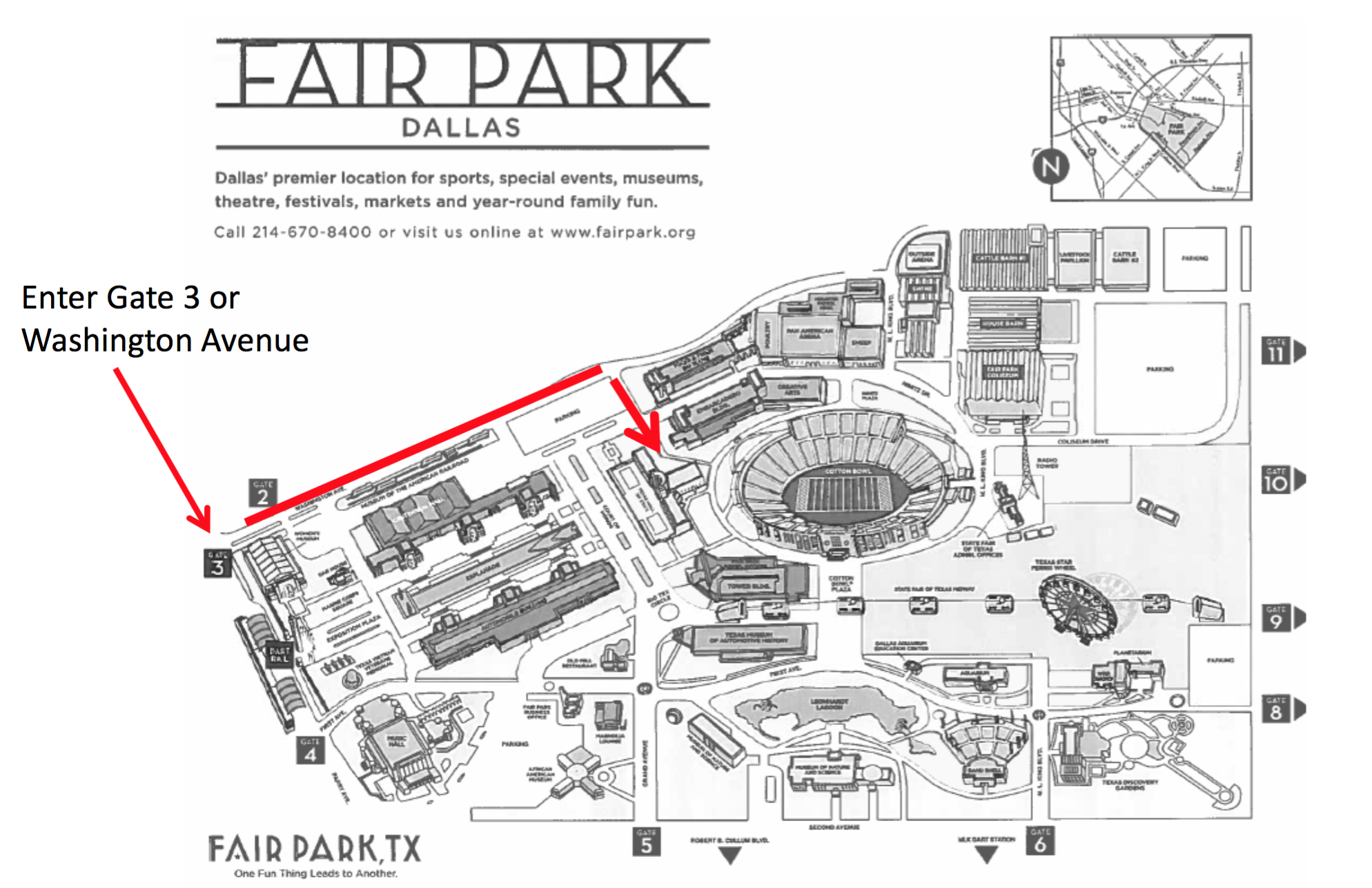 Fair Park Map default   Thumbnails Fair Park Map