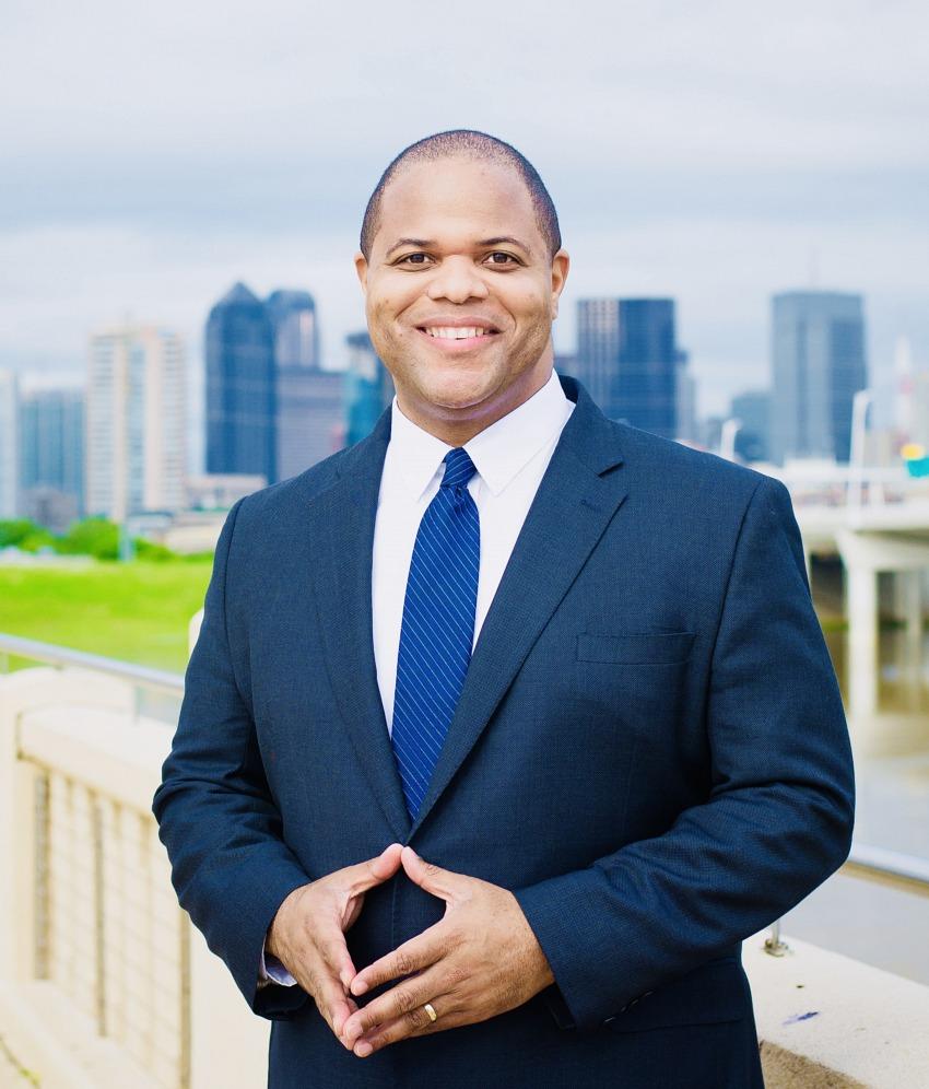 City of Dallas Mayor Eric Johnson