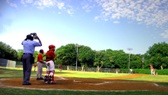 Baseball field at Samuell Grand Park - photo from cover of the 2006-07 annual adopted budget book