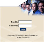 HRIS Login screen image - Employees Only