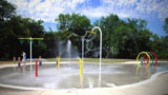 Splashground at Ridgewood Recreation Center - photo from cover of the 2006-07 annual adopted budget book