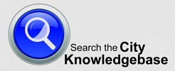Search the City Knowledgebase